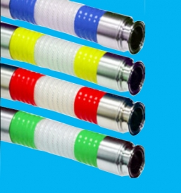 Outer corrugated silicone steel wire hose FC31